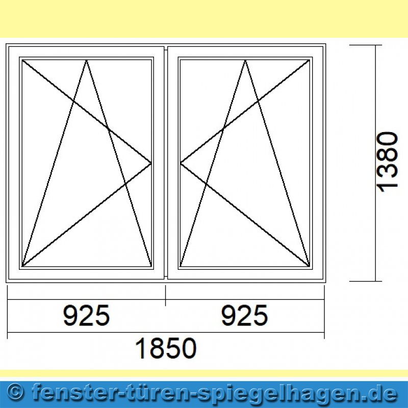 spa 555 2 flg fenster innen wei au en eiche dunkel 1. Black Bedroom Furniture Sets. Home Design Ideas