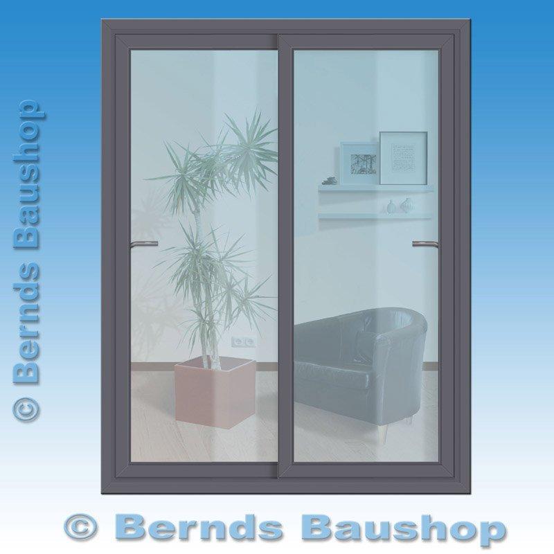 schiebet r innen anthrazit au en anthrazit breite 250 cm. Black Bedroom Furniture Sets. Home Design Ideas