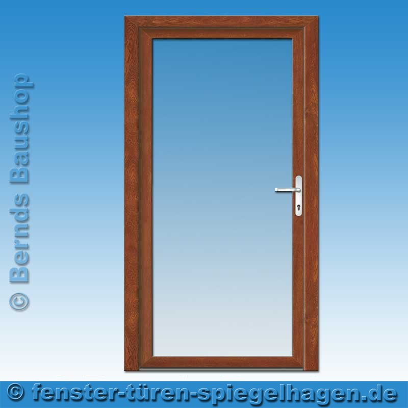 haust r vollglast r golden oak ek 01 klarglas m ller gmbh spiegelhagen. Black Bedroom Furniture Sets. Home Design Ideas